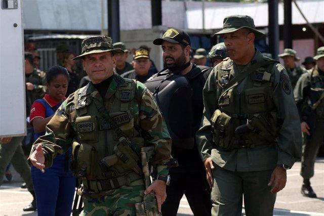 El jefe militar venezolano Remigio Ceballos