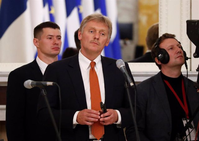 Dimitri Peskov, portavoz del Kremlin