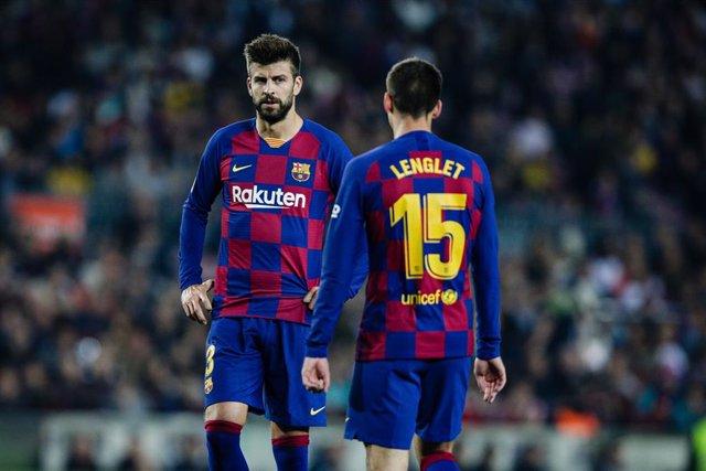 """Fútbol/Champions.- Piqué: """"Entendemos que la gente espere más de nosotros"""""""