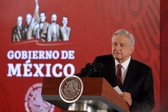 """México/EEUU.- López Obrador promete a Trump """"justicia"""" para las víctimas del ata"""