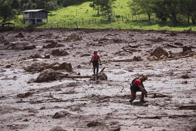 Desastre causado por el colapso de la presa de Brumadinho (Brasil)