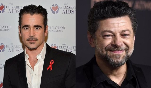 Andy Serkis y Colin Farrell