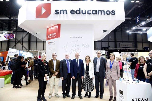 COMUNICADO: Microsoft, Google y Amazon acompañan a SM Educamos en SIMO Educación