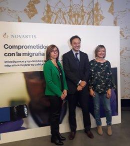 Presesentación fármaco Novartis para la prevención de migrañas