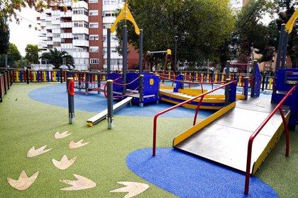 Móstoles estrenará su primer parque infantil inclusivo completo para que niños con y sin discapacidad compartan juego