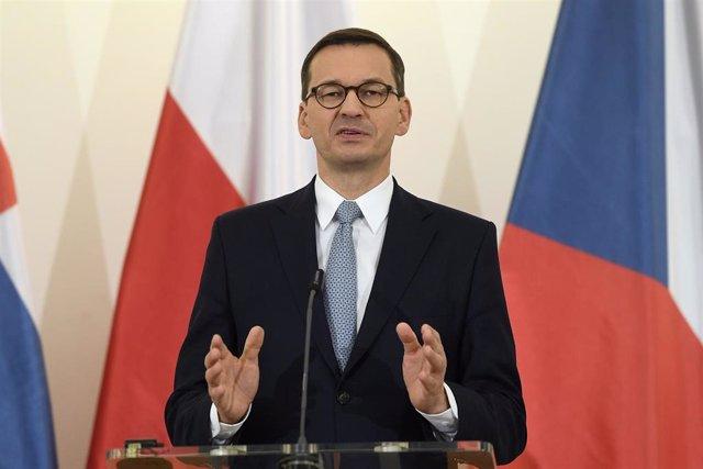 Primer ministro de Polonia, Mateusz Morawiecki