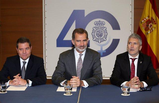 El rei inaugura el Congrés Internacional 'Igualtat de gnere en l'mbit de la Seguretat'