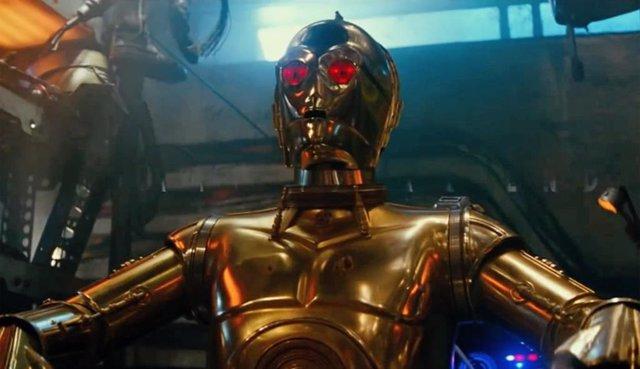 C-3PO en la saga Star Wars