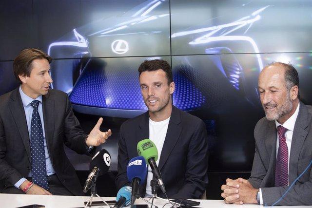 """Tenis.- Roberto Bautista agradece a Lexus que quiera ser parte de un """"pedacito"""""""