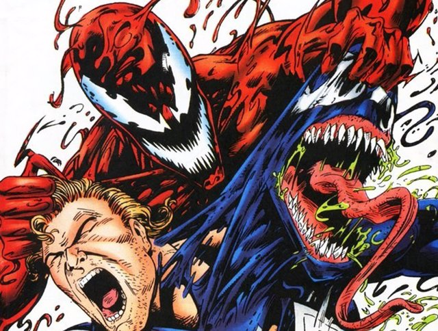 Carnage (Matanza) contra Venom en los cómics de Marvel