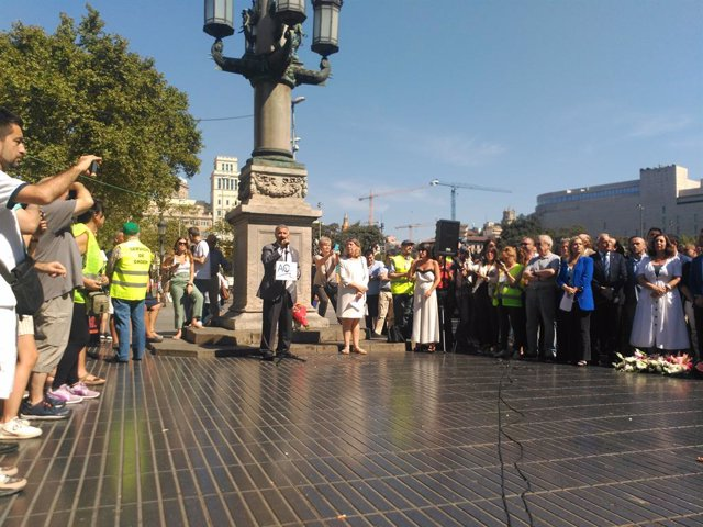 Acte de l'Associació Catalana de Víctimes d'Organitzacions Terroristes (Acvot).