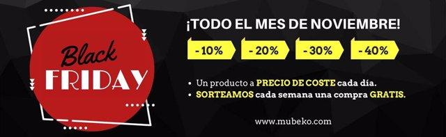 COMUNICADO: Mubeko.com, la tienda online que sortea muebles durante el mes de No