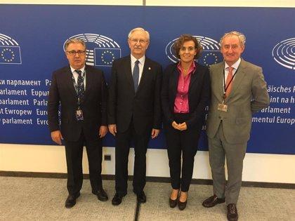 Los médicos se reúnen con eurodiputados españoles para abordar el 'Brexit' o la atención sanitaria a inmigrantes