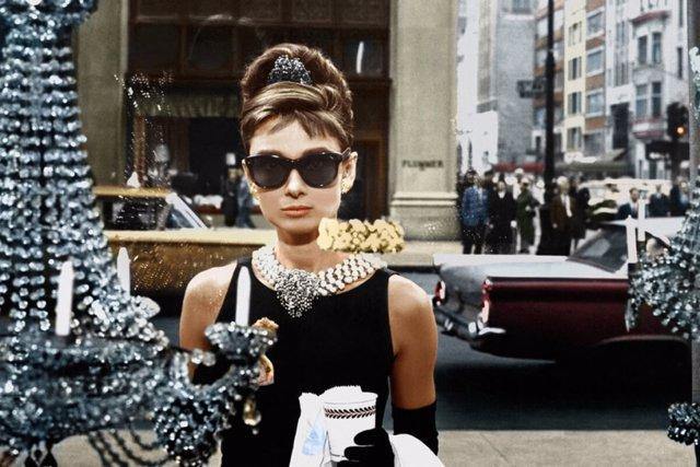 Audrey Herpburn en Desayuno con diamantes