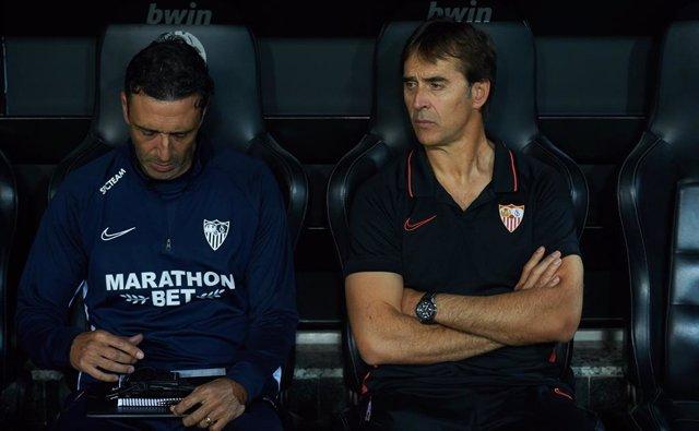 """Fútbol/Liga Europa.- Lopetegui no piensa en el Betis: """"Tenemos que centrar la ca"""