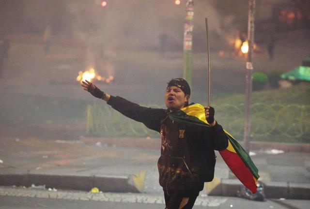 Bolivia.- La OEA condena los actos de violencia en Bolivia y llama a la calma