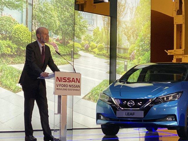 El secretario de Estado de Energía, José Domínguez Abascal, en el Foro Nissan