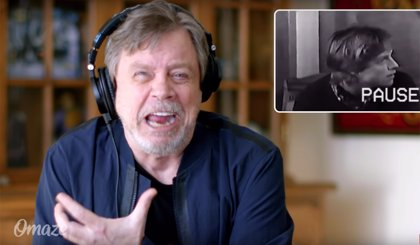 VÍDEO: Mark Hamill se ríe de su desastrosa audición para Star Wars