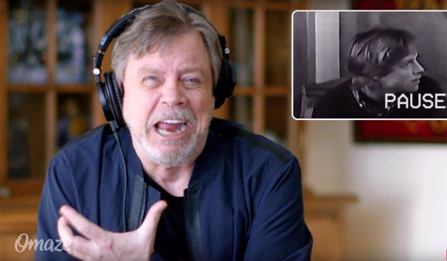 Mark Hamill se ríe de su prueba para Star Wars
