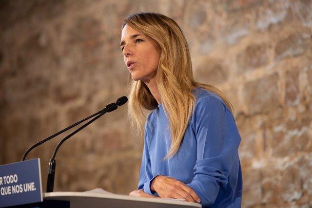 La portaveu del Grup Popular al Congrés, Cayetana Álvarez de Toledo.