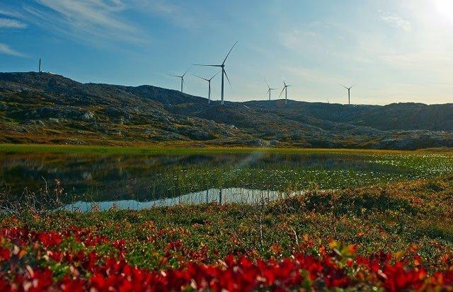 Parque eólico de Siemens Gamesa en Suecia