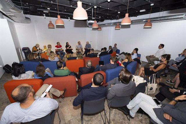 Encuentro de trabajadores remotos en el Nomad City 2019 de Las Palmas de Gran Canaria
