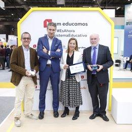 COMUNICADO: SM presenta en SIMO Educación un acuerdo con HP para fomentar las co