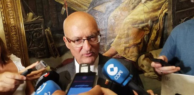 Bernardo Ciriza, consejero de Cohesión Territorial del Gobierno de Navarra