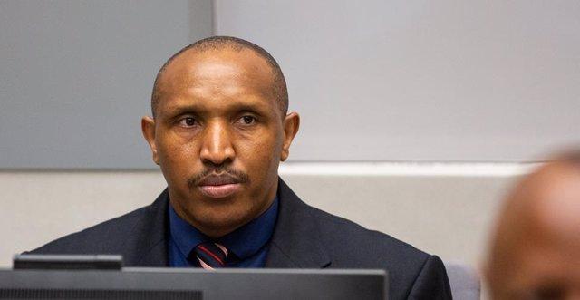 El senyor de la guerra Bosco Ntaganda durant el seu judici davant el TPI