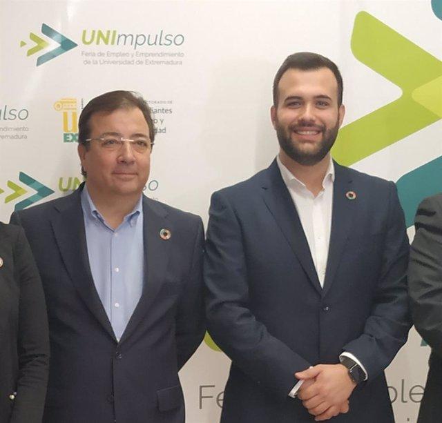 Fernández Vara y Luis Salaya