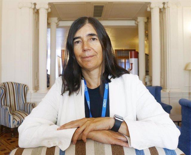 La directora del Centro Nacional de Investigaciones Oncológicas (CNIO), María Antonia Blasco