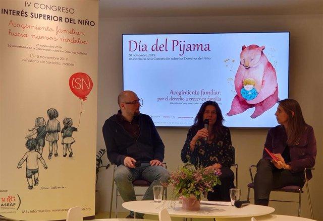 ASEAF presenta el 'IV Congreso Interés Superior del Niño. Acogimiento familiar: hacia nuevos modelos' y el 'Día del Pijama', que se celebra el próximo 20 de noviembre