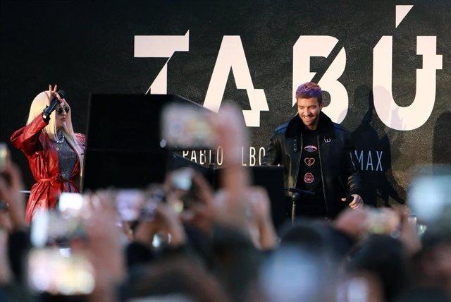 Pablo Alborán presenta Tabú en Callao