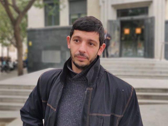 L'advocat i portaveu d'Alerta Solidària, Xavi Pellicer.