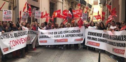 """Empresarios de Dependencia llaman a los sindicatos a unirse a ellos para """"presionar"""" al Gobierno y aumente financiación"""