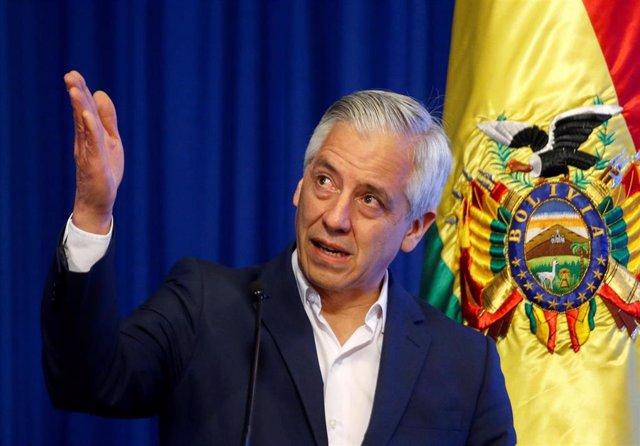 El presidente de Bolivia, Álvaro García Linera