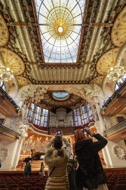 El Palau de la Música celebrarà el 24 de novembre una jornada de portes obertes