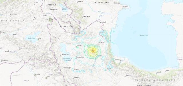 Irán.- Al menos cuatro muertos y más de 70 heridos a causa de un terremoto en el