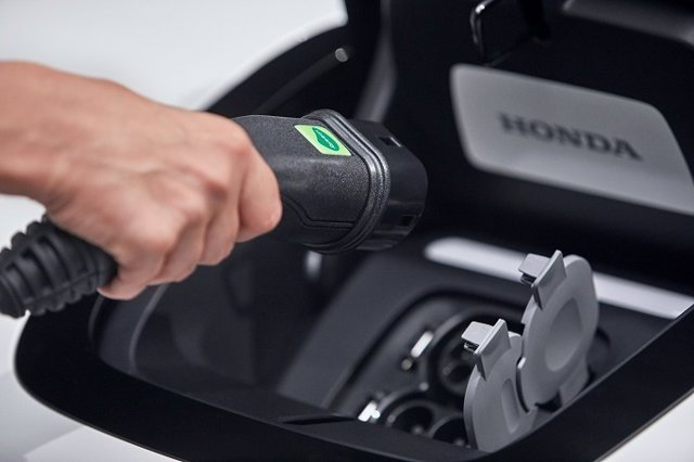 Foto recurso vehículo eléctrico de Honda
