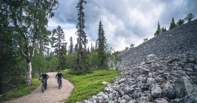 Parque natural en Laponia