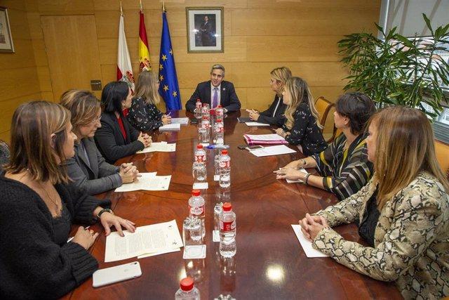 Constitución Consejo de la Mujer de Cantabria