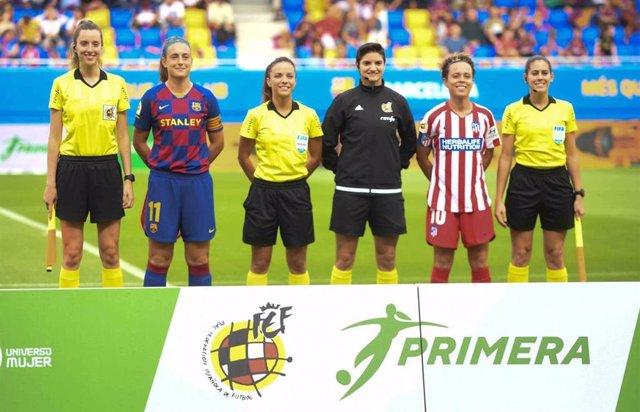 Fútbol.- Atlético y Barça se medirán en los cuartos de la UEFA Women's Champions
