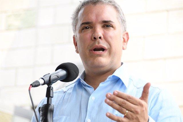 Colombia.- Duque pide investigar el reclutamiento de menores por parte de grupos