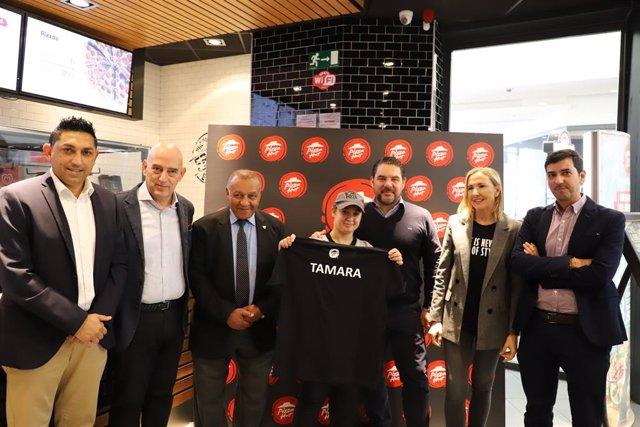 Fútbol.- Grupo Telepizza incorpora a una nueva jugadora de LaLiga Genuine Santan