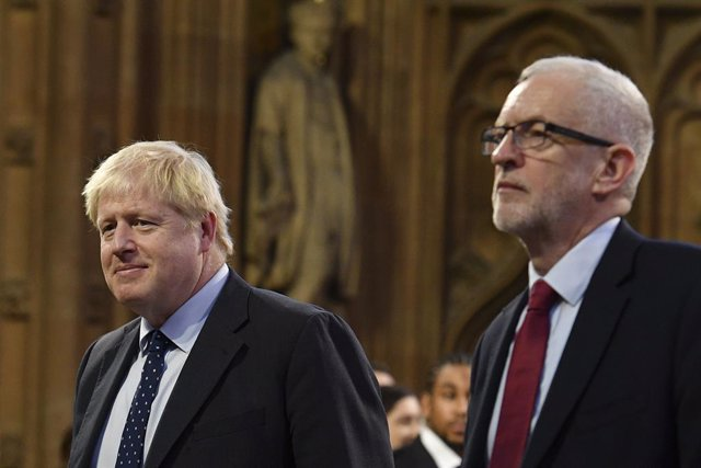 R.Unido.- Johnson y Corbyn participarán en un segundo 'cara a cara' televisado e