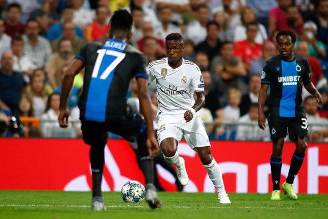 Fútbol.- Vinicius vuelve a la lista del Real Madrid para la visita al Eibar y Jo
