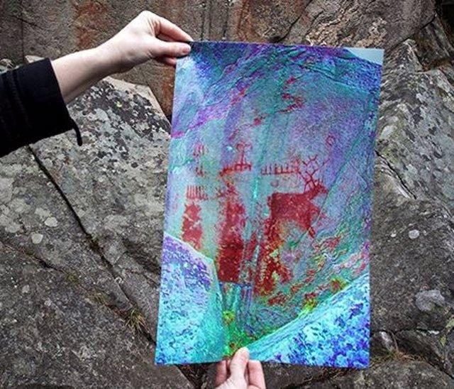 Pinturas rupestres con representación de embarcaciones
