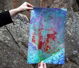 Pinturas demuestran navegación de larga distancia en la Edad de Piedra