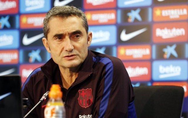 """Fútbol.- Valverde: """"Nos urge ganar por la sensación que hay"""""""