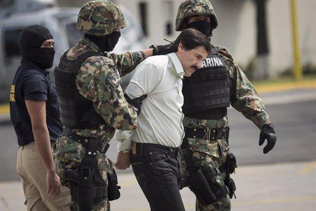 Joaquín 'El Chapo' Guzmán detenido en 2014